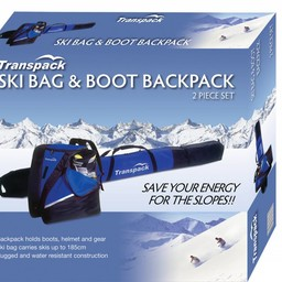 TRANSPACK ALPINE 2 PIECE BOX SET SKI BAG 2017/2018