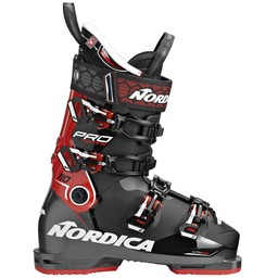 NORDICA PROMACHINE 110 SKI BOOT 2018/2019 BLACK/RED/WHITE