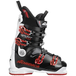 NORDICA SPORTMACHINE 100 SKI BOOT 2018/2019 BLACK/WHITE/RED