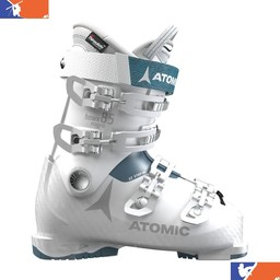 ATOMIC HAWX MAGNA 85 WOMENS SKI BOOT 2018/2019 WHITE/DENIM BLUE