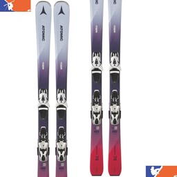 ATOMIC VANTAGE X 74 WITH LITHIUM 10 BINDING WOMENS SKI 2018/2019