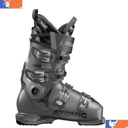 ATOMIC HAWX ULTRA 120 S SKI BOOT 2018/2019 ANTHRACITE/GREY