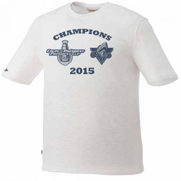 2015 President Cup Champions Tee
