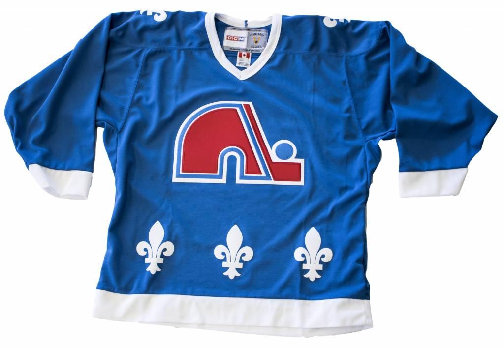 CCM Quebec Nordiques Replica Jersey