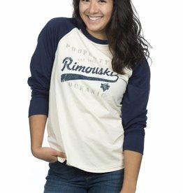 Bardown T-shirt Unisexe baseball manches longues