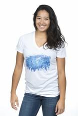 T-shirt Splash pour femme