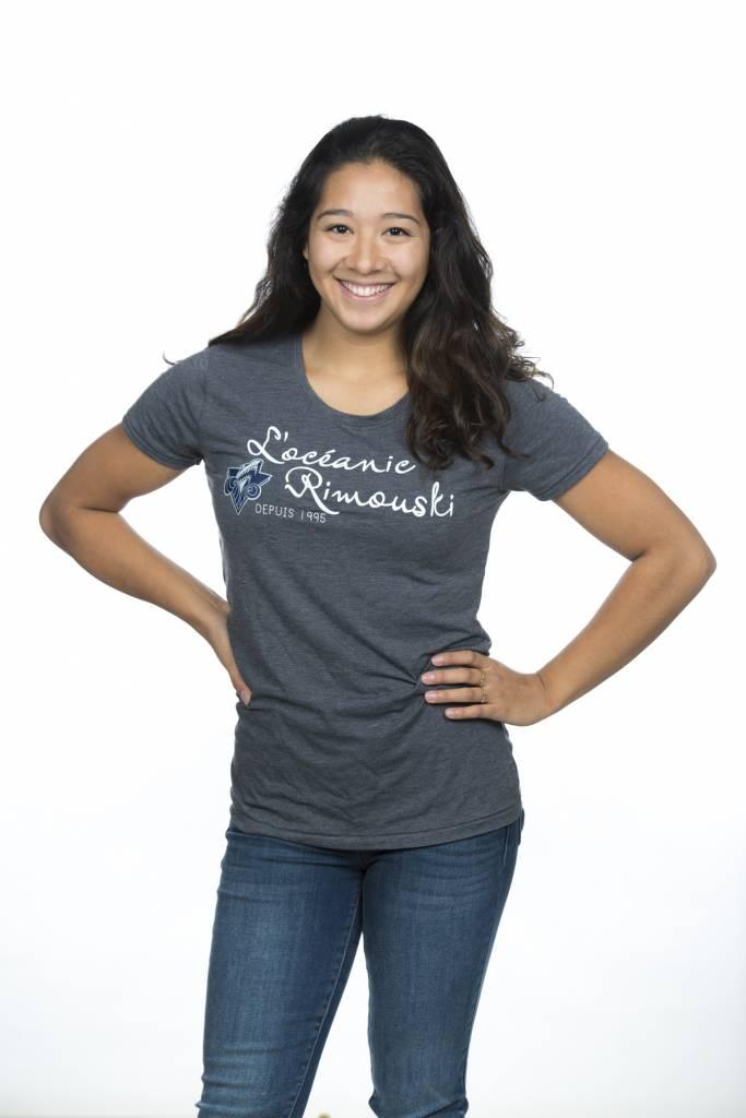 Campus Crew T-shirt Campus Crew Classic pour femme