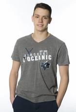 Campus Crew Men's Campus Crew V-Neck Classic T-shirt