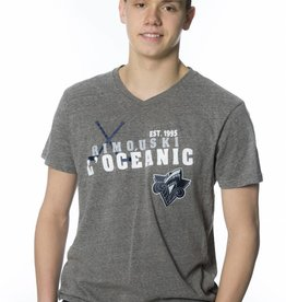Campus Crew Men's Campus Crew V-Neck Classic T-shirt