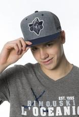 CCM CCM Fashion Grey Snapback Cap