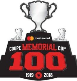Écusson 100e anniversaire Coupe Memorial