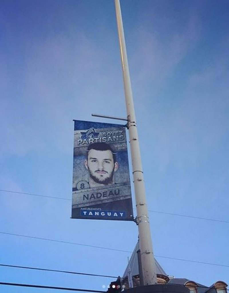 Street Banners - 2018 Playoffs