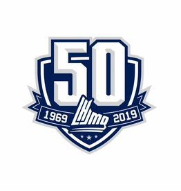 QMJHL 50th Anniversary Patch