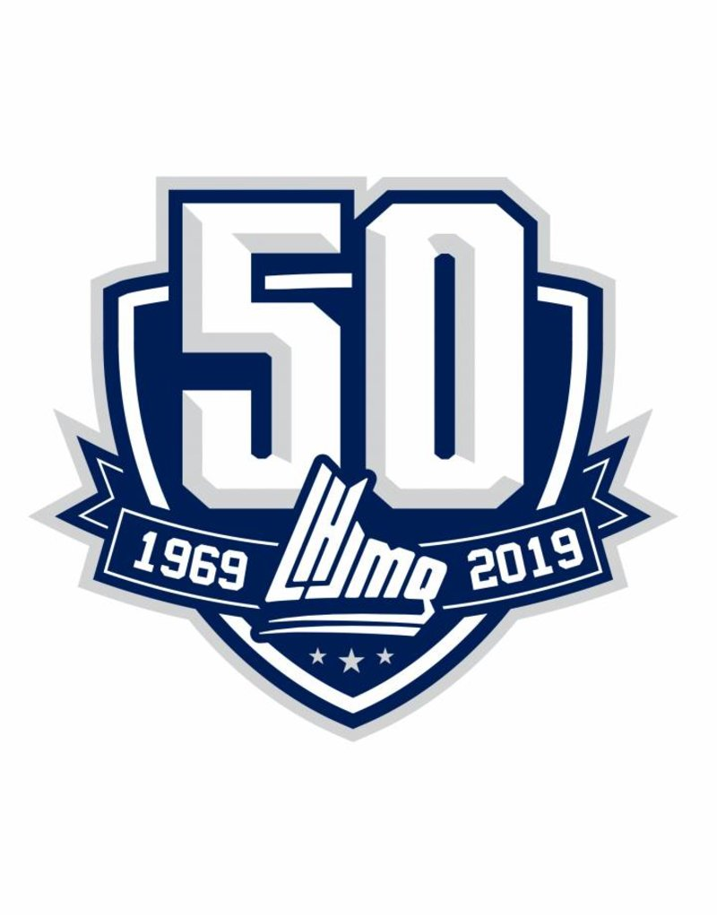 QMJHL 50th Anniversary Patch