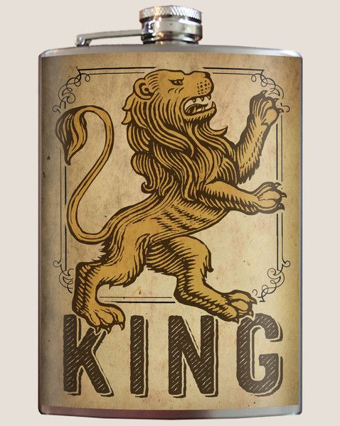 Lion King Flask