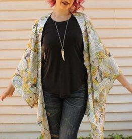 Japonica Yellow Kimono