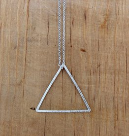 Petite Triangle Geo Necklace