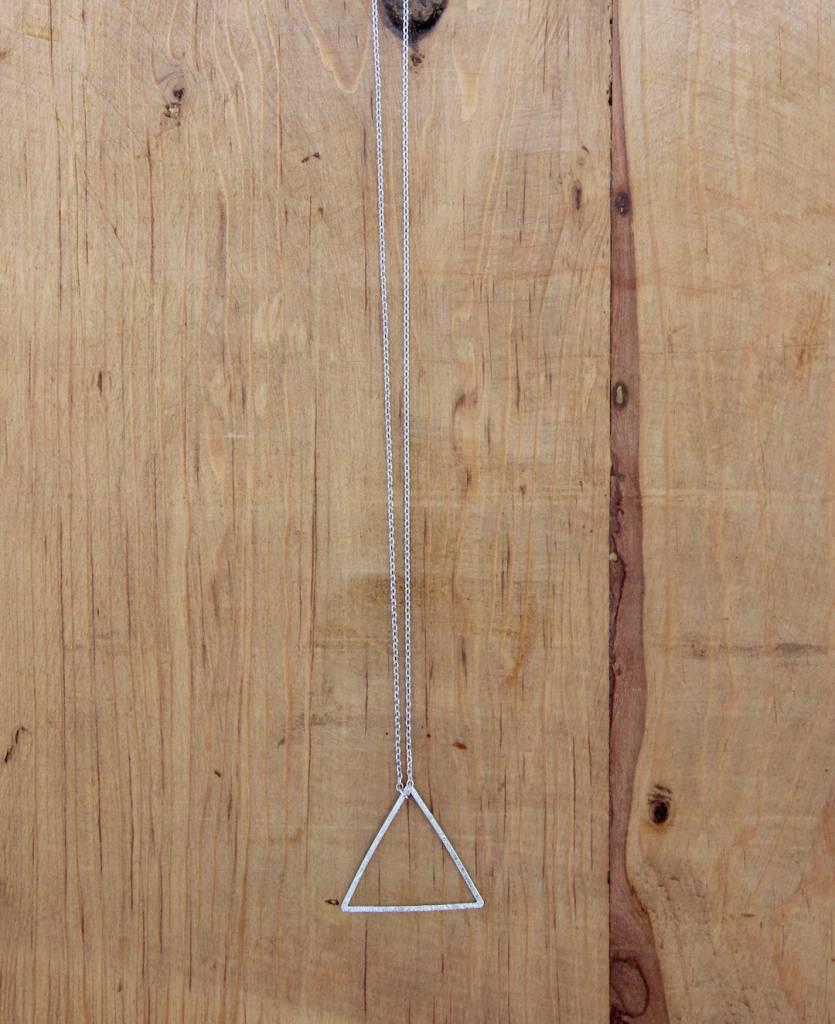 Petite Triangle Geo Necklace