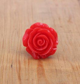 Love In Bloom Ring Red