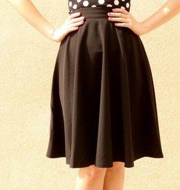 Thrills Skirt Black