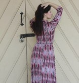 Maxine Collar Dress Geo