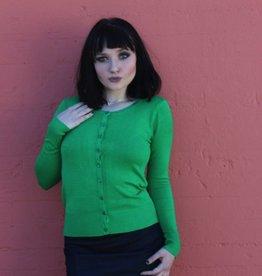 Trudy Classic Cardigan Kelley Green