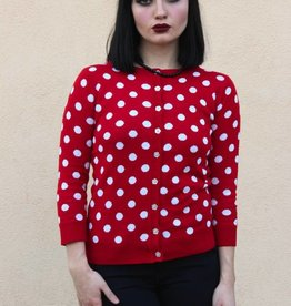 Minnie Cardigan Red