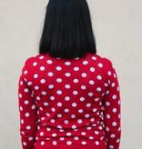 Minnie Cardigan Red
