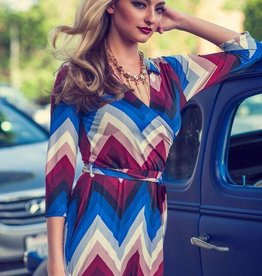 Maxine Collar Chevron