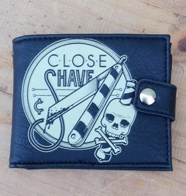 Close Shave Black Wallet