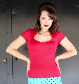 Sophia Top Red
