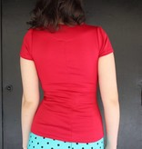 Sophia Top Red
