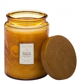 Baltic Amber Large Jar Candle
