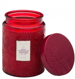 Goji Tarocco Orange Candle Jar