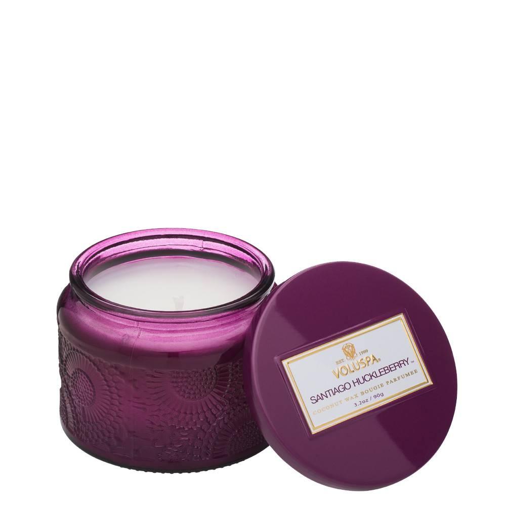 Santiago Huckleberry Petite Jar Candle