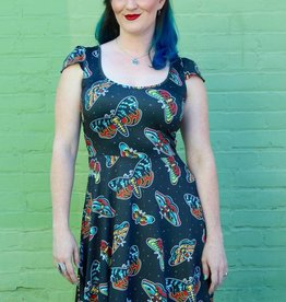 Deaths Head Moth Dress