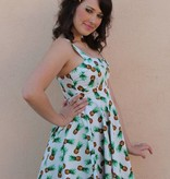 Marlena Dress Pineapples