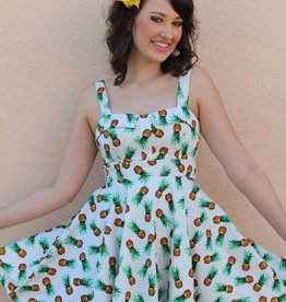 Marlena Dress Pineapples