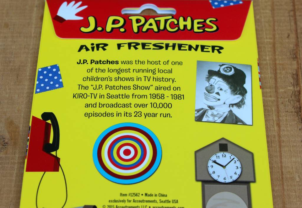 JP Patches Deluxe Air Freshener