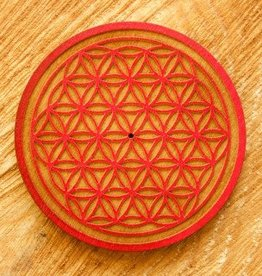 Flower Of Life Incense Burner