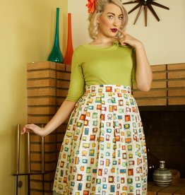 Cindy Retro TV Skirt