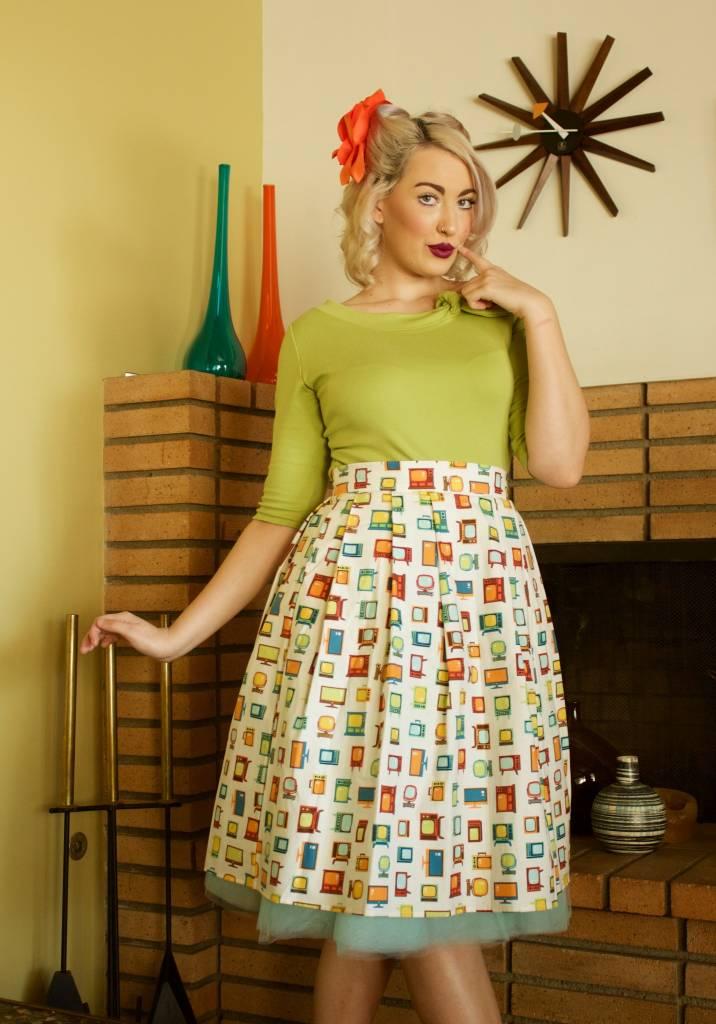 Cindy Retro TV Skirt