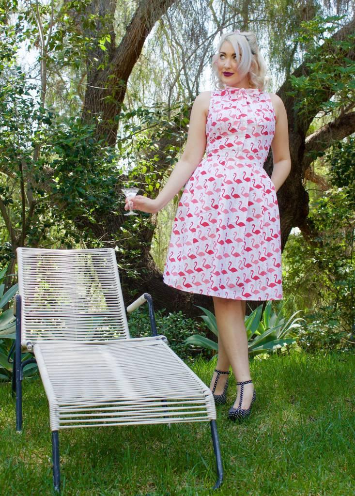 Cindy Flamingo Skirt