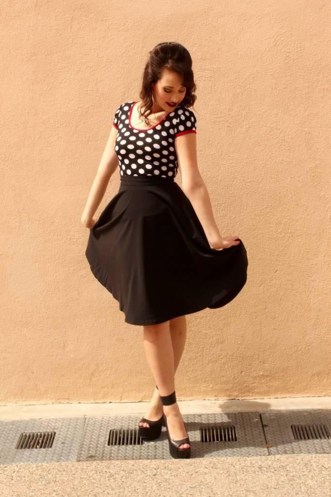 High Waist Thrills Skirt w/ Pockets