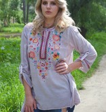 French Lavender Blouse