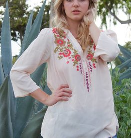 Blushing Blooms Blouse