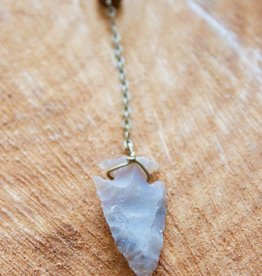 Hoopa Arrowhead Necklace