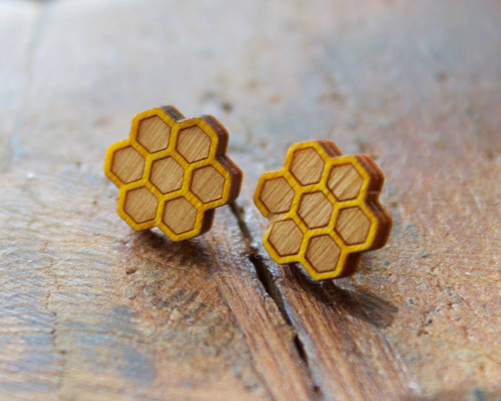 Honey Comb Stud