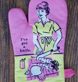 Got A Knife Oven Mitt