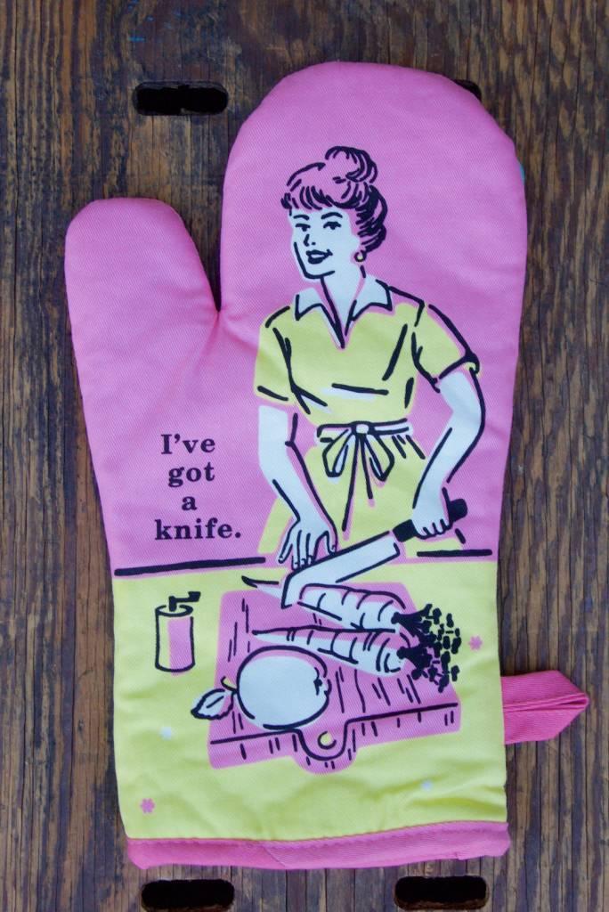 Got A Knife Oven Mitt